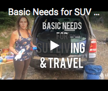 Basics for SUV Car Camping