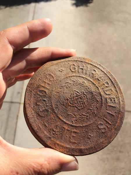 Antique Can Lid Ghiradelli